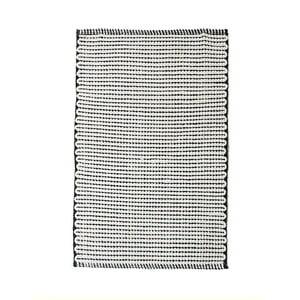 Obojstranný bavlnený ručne tkaný koberec Pipsa Points, 60×90 cm