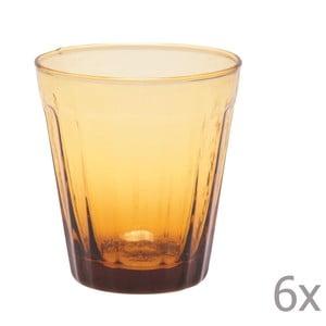 Sada 6 pohárov na víno Lucca Honey, 180 ml