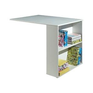 Biely prídavný stolík k posteli Vipack Highsleeper