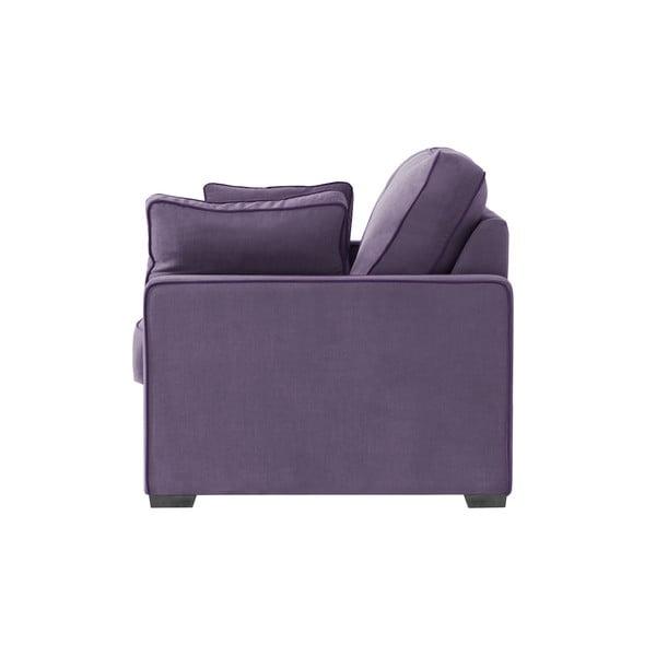 Trojmiestna pohovka Jalouse Maison Serena, fialová