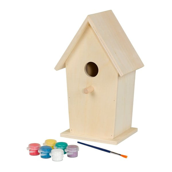 Domček pre vtáčiky Painting
