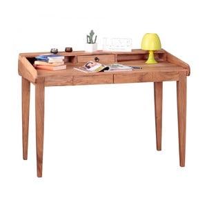 Pracovný stôl z masívneho akáciového dreva Skyport BOHA