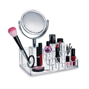 Organizér na kozmetiku so zrkadlom Domopak Make Up