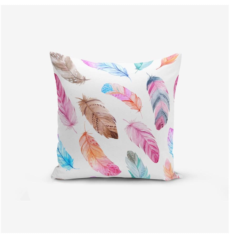 Obliečka na vankúš Minimalist Cushion Covers Colorful Bird Pendants, 45 × 45 cm