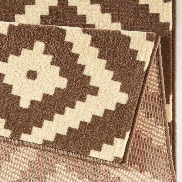 Béžový koberec Hanse Home Hamleti Diamond, 80x150cm