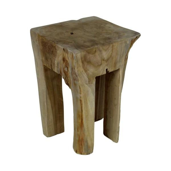 Stolička z teakového dreva HSM Collection Keta