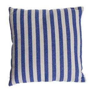 Vankúšik Cosas de Casa Stripes, 45 x 45 cm, modrý