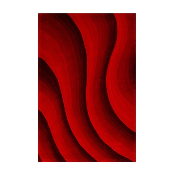 Koberec Casablanca 140x200 cm, červené odstíny
