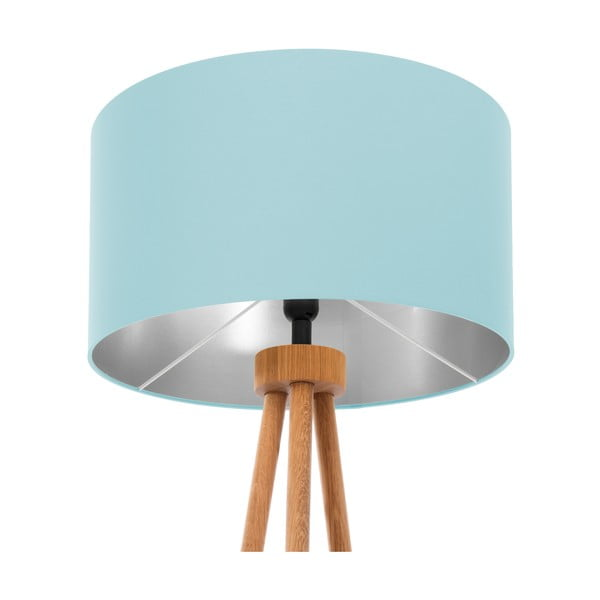 Stojacia lampa Light Blue Silver