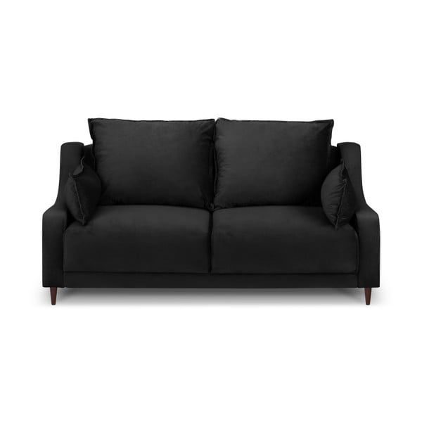 Čierna dvojmiestna pohovka Mazzini Sofas Freesia