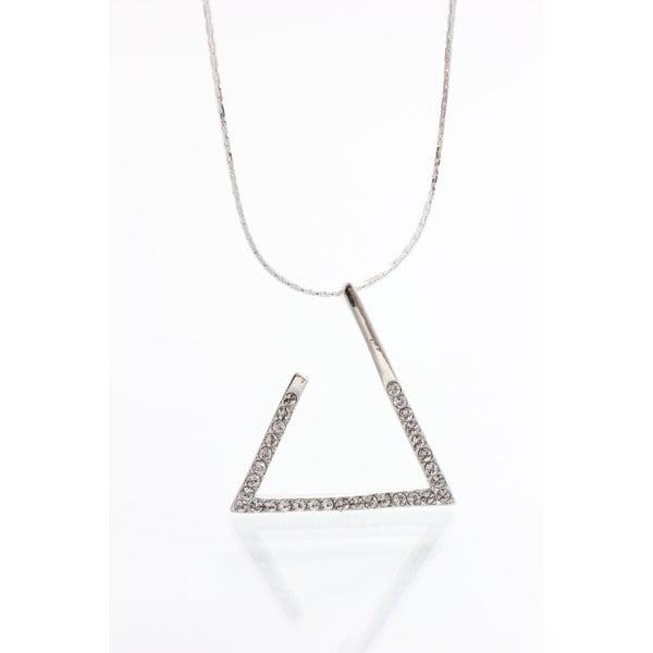 Náhrdelník so Swarovski krištáľmi Yasmine Triangle