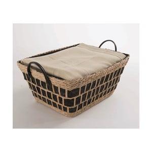 Tkaný košík Compactor Seagrass,46x34cm