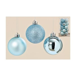Sada 20 ks vianočných gulí Blue Art