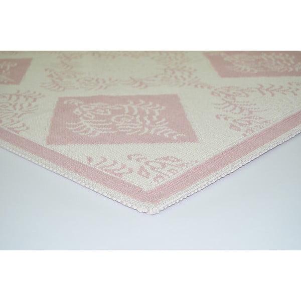 Odolný koberec Azalea, 160x230 cm, pudrový