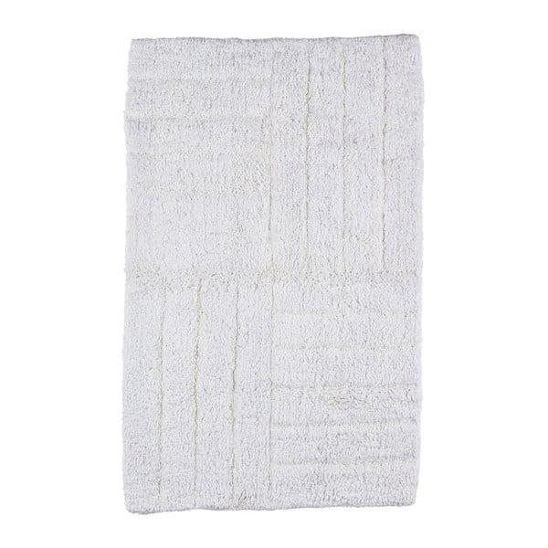Biela kúpeľňová predložka Zone Classic, 50x80cm