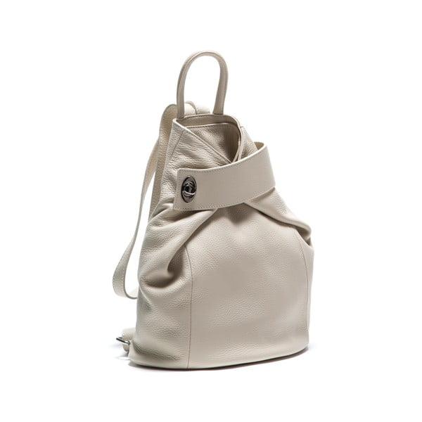 Kožený batoh Anna Luchini 1083 Beige