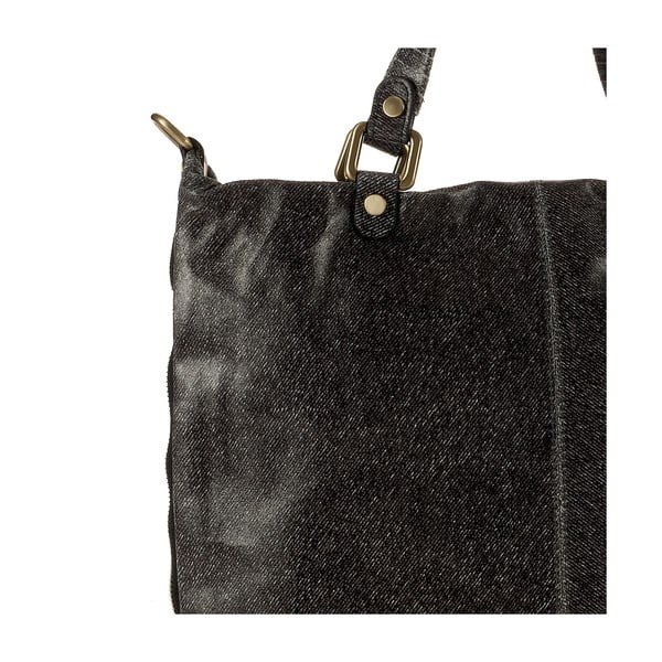 Kožená kabelka Ore Diece Affile, čierna