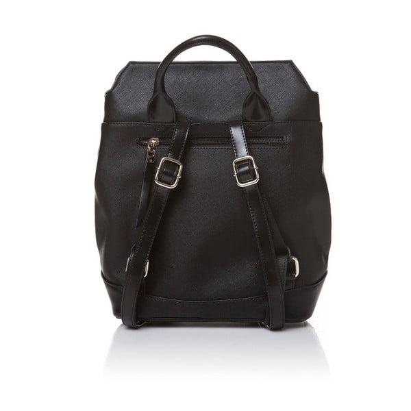 Kožený batoh Marta Ponti Aipee, čierna