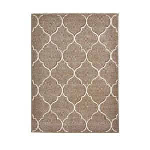 Béžový koberec Think Rugs Ventura, 120×170cm