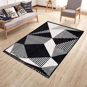 Obojstranný prateľný koberec Kate Louise Doube Sided Rug Pyramid, 80 × 150 cm