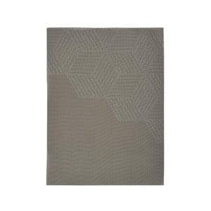 Hnedobéžové prestieranie Zone Hexagon, 30 × 40 cm