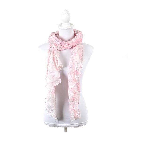 Šatka/pareo BLE Inart 100x180 cm, ružová