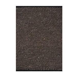 Vlnený koberec Nordic Anthracit, 140x200 cm