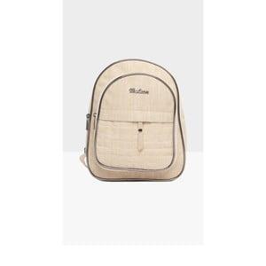 Svetlobéžový dámsky batoh Mori Italian Factory Marno