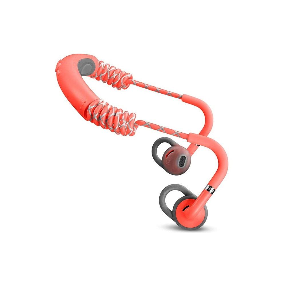 Červené bezdrôtové Bluetooth slúchadlá do uší Urbanears STADION Rush