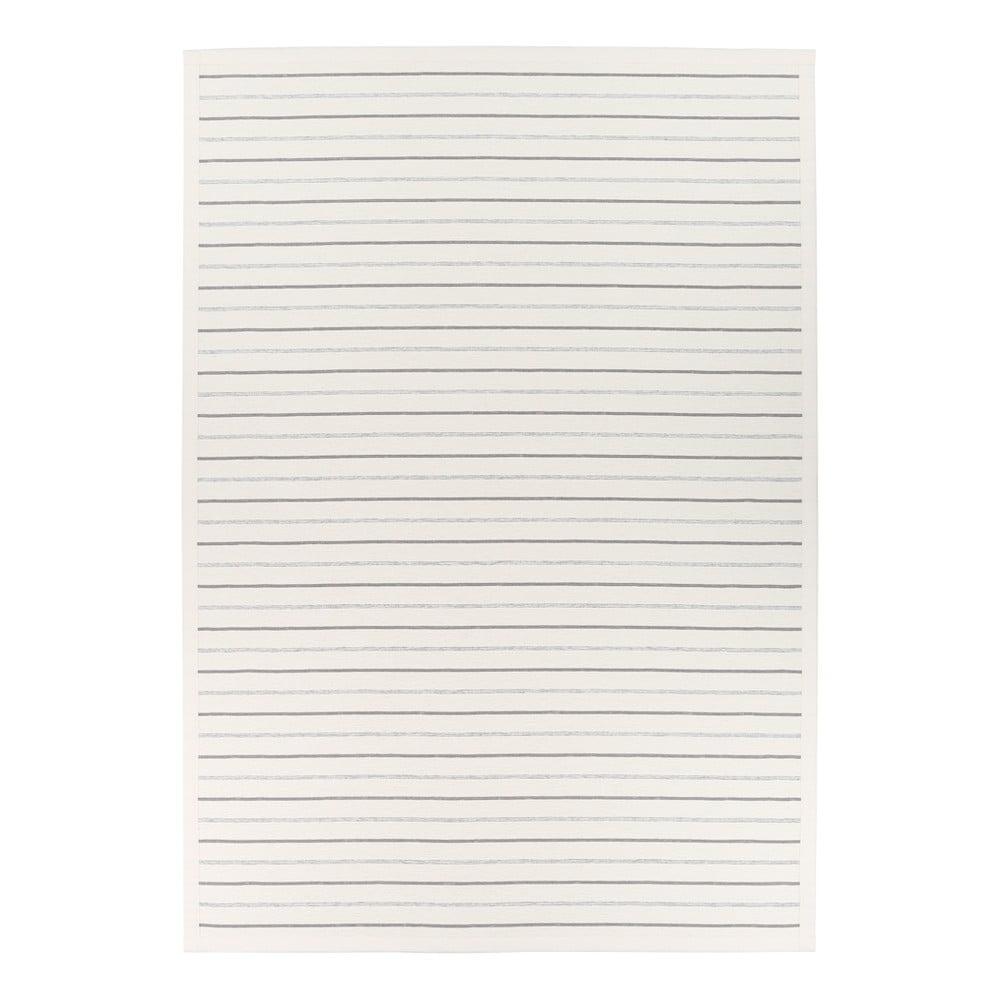 Biely obojstranný koberec Narma Vao White, 200 x 300 cm