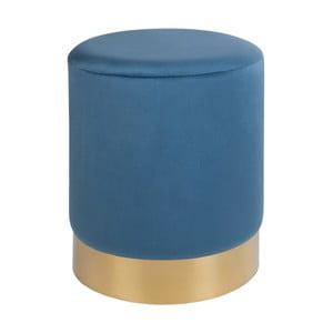 Modrý puf House Nordic Gamby, ø 34 cm