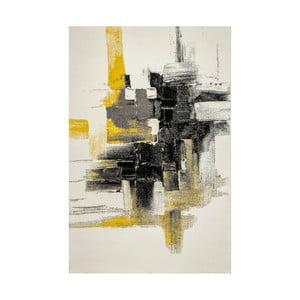 Koberec Eko Rugs Farbles Grey/Yellow, 120x180cm