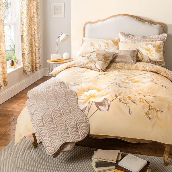 Záves Flora Gold, 168x183 cm