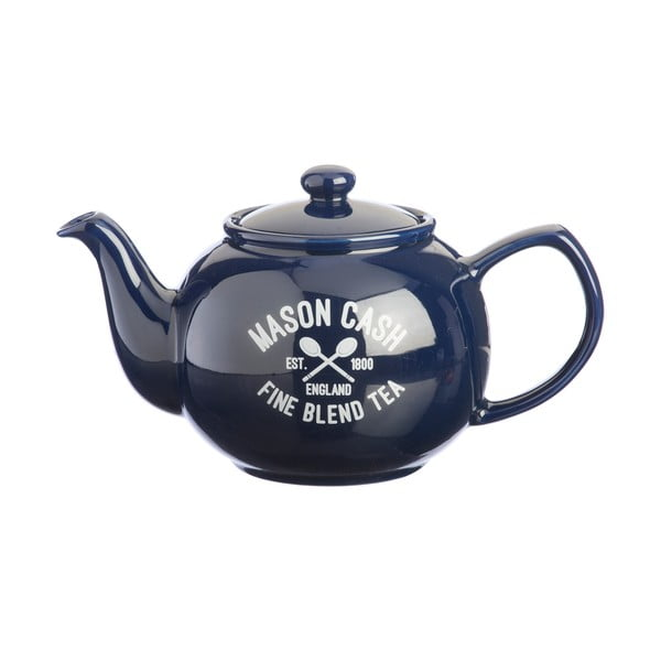 Modrá kanvica na čaj Mason Cash Varsity