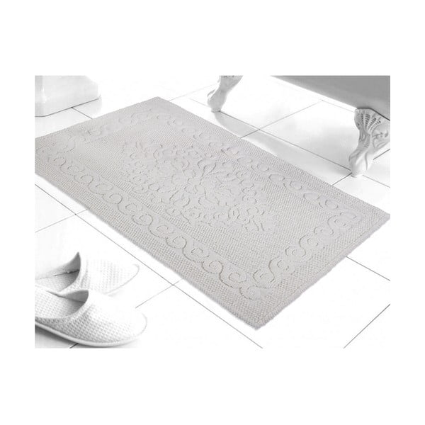 Predložka do kúpeľne Damask White, 60x100 cm