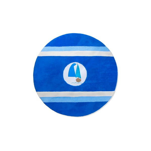 Detský koberec Beybis Blue and Ocean, 120 cm
