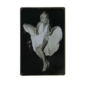 Ceduľa Oops Marilyn, 20x30 cm