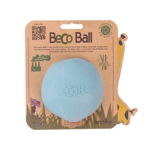 Loptička Beco Ball 8.5 cm, modrá