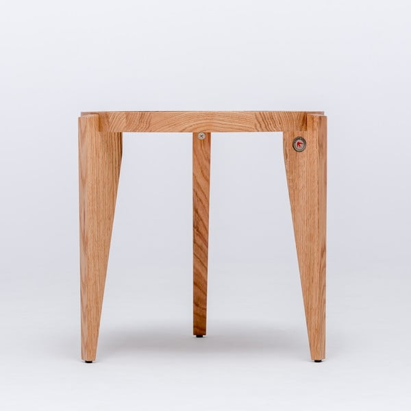 Dubový kávový stolík Bontri, 50x38 cm