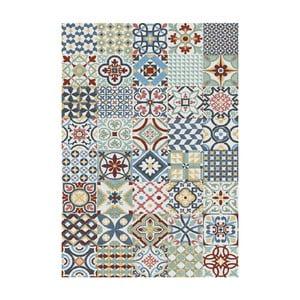 Modrý koberec Universal Azulejos, 80×150cm
