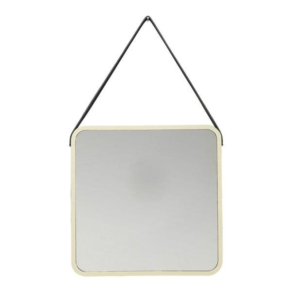 Nástenné zrkadlo v zlatej farbe Kare Design Aloha