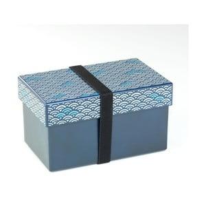 Modrý desiatový box Joli Bento Fresco, 980ml