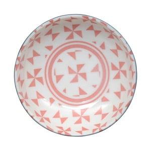 Ružová miska Tokyo Design Studio Geo Eclectic, 9,5x3 cm