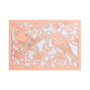 Sada 10 komplimentiek s obálkami Portico Designs FOIL Birds