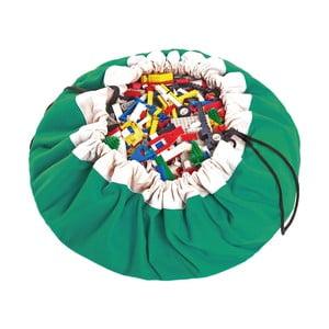 Podložka na hranie a vrece na hračky v jednom Play and Go Classic Green