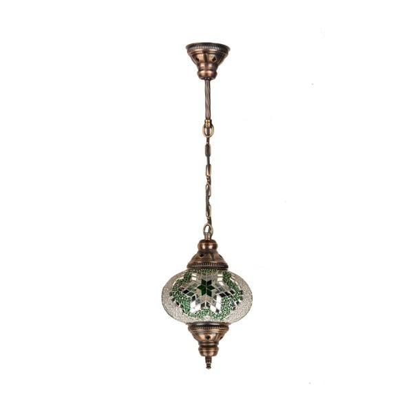 Sklenená závesná lampa Single XII, 17 cm