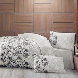 Obliečky s plachtou Lena Grey, 160x220cm