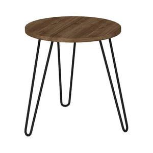 Odkladací stolík v dekóre orechového dreva Beren