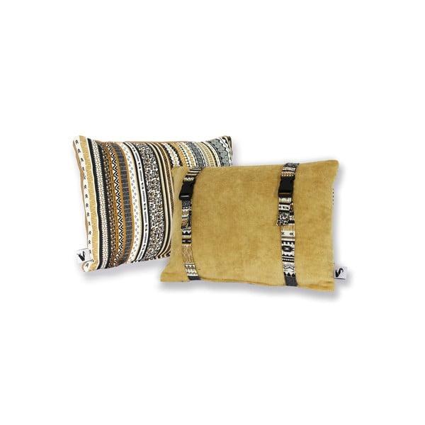 Vodeodolný, obojstranný vankúšik Dream Pillow Sand Tribal