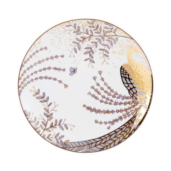 Sada 6 dezertných tanierov Accademia Peacock